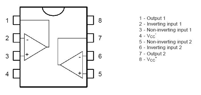 Dual Op-Amp BiFET TL082