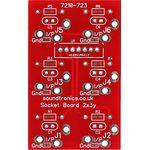 """2x3y 1/4"""" Jack Socket Panel PCB (20x 22y Pitch)"""