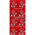 """2x4y 1/4"""" Jack Socket Panel PCB (20x 22y Pitch)"""