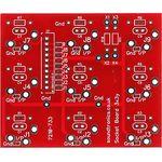 """3x3y 1/4"""" Jack Socket Panel PCB (28x 22y Pitch)"""