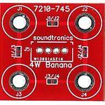 2x2y Banana Socket Panel PCB (20x 18y Pitch)