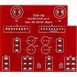 Dual AR switch PCB