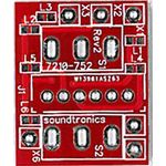 2x1y Toggle Switch Panel PCB (14x Pitch) Rev 2