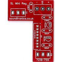 Sound Lab Mini Synth Toggle Switch / Regulator PCB