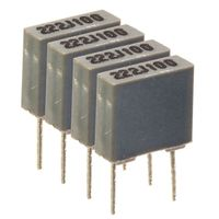 Matched capacitor quads 100nF