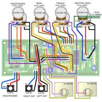 YuSynth Output Stage & Monitor Wiring