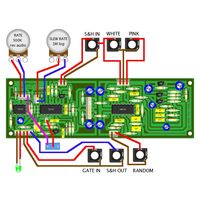 YuSynth Noise + S&H Wiring
