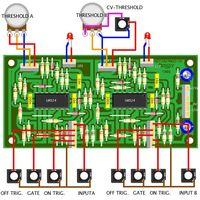 YuSynth Comparators Module Bare PCB Wiring